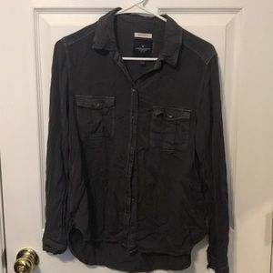 American Eagle button up boyfriend fit